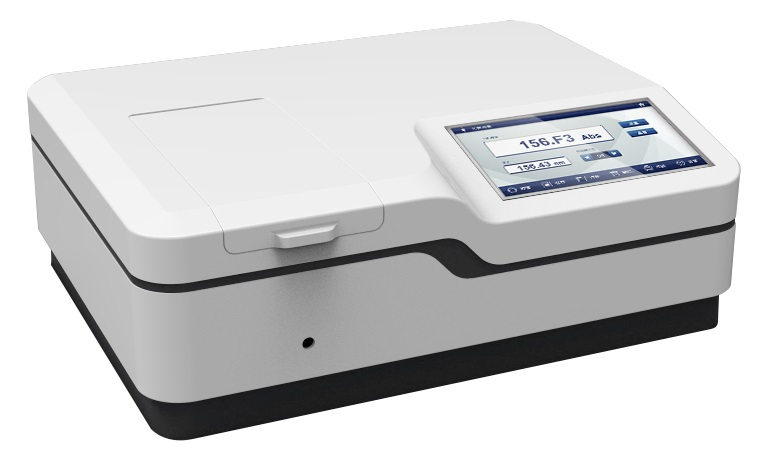 DOUBLE BEAM SPECTROPHOTOMETER COLOUR SCREEN