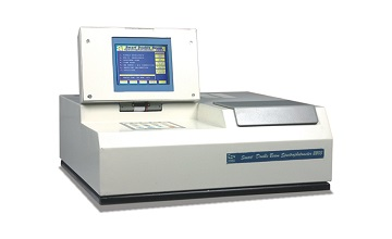 Smart UV-VIS Double Beam Spectrophotometer with Graphic LCD