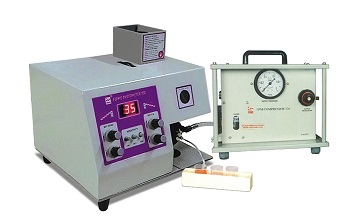 Digital Flame photometer with Compressor