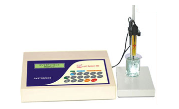 µ Controller Based pH system with Electrode & Temp. Probe