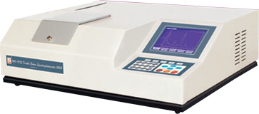 Double Beam UV VIS Spectrophotometer with Graphic LCD